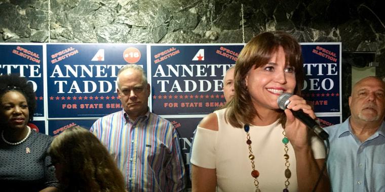 Annette Taddeo, Florida's first Latina Democrat state senator