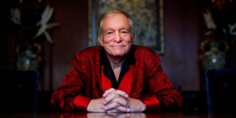 Image: Playboy magazine founder Hugh Hefner