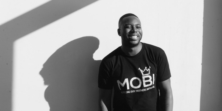 DaShawn Usher, founder of the Mobilizing Our Brothers Initiative (MOBI)