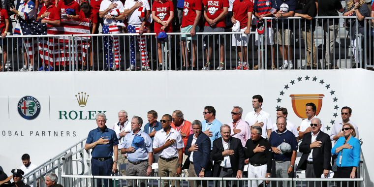 Image: The Presidents Cup - Round One