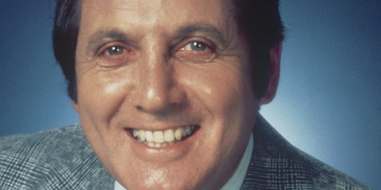 Image: Game show host Monty Hall.