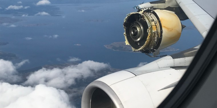 Image: The Airbus A380 engine suffered an uncontained failure during a flight from Paris to Los Angeles.