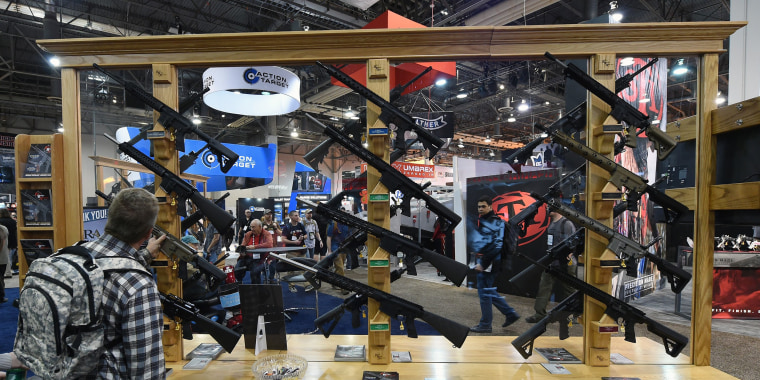 Image: National Shooting Sports Foundation Hosts Annual Trade Show In Las Vegas