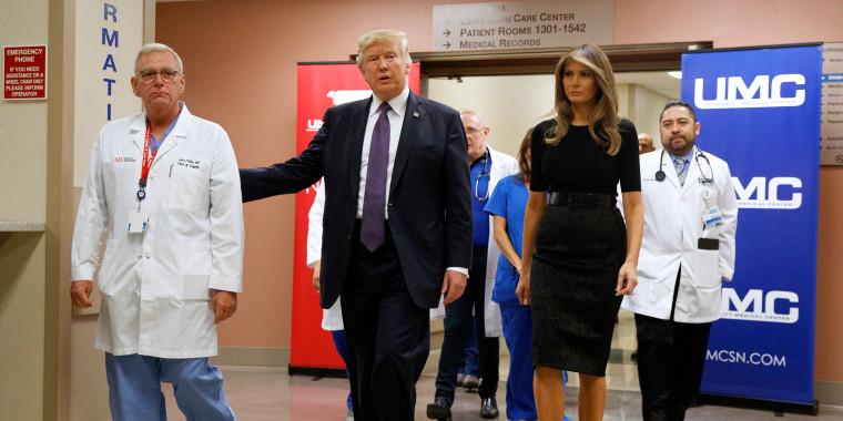 Image: Donald Trump, Melania Trump
