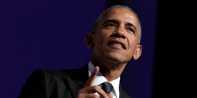 Image: U.S. President Barack Obama addresses the Congressional Black Caucus Foundation's 46th annual Legislative Conference Phoenix Awards Dinner
