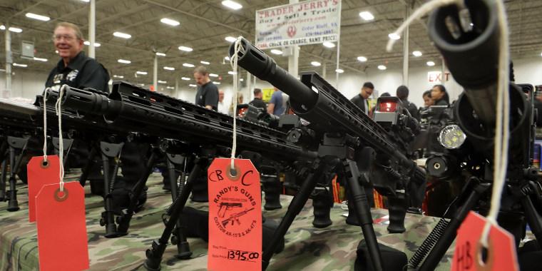 Image: Major Gun Show Held In Virginia
