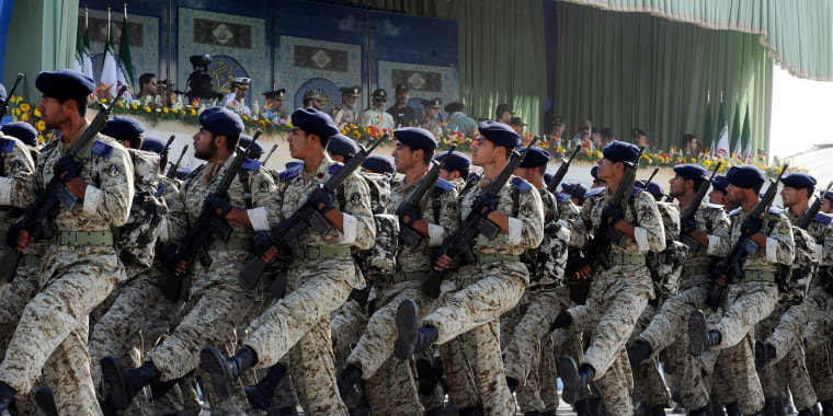 Image: Military Parade Kicks Off Irans Sacred Defence Week