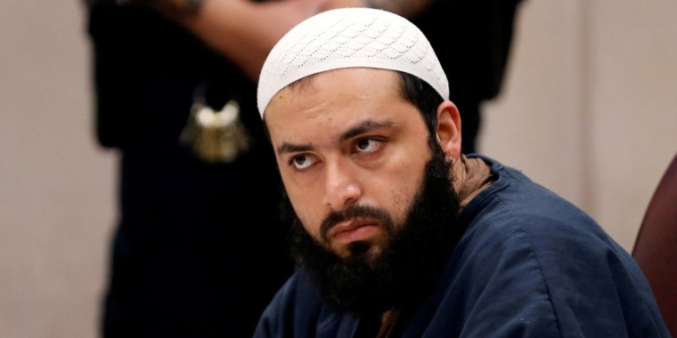 Image: FILE PHOTO: Ahmad Khan Rahimi, the Afghan-born U.S. citizen accused of planting bombs in New York and New Jersey appears in Union County Superior Court for a hearing