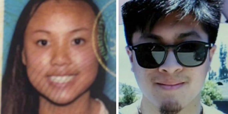 Image: Rachel Nguyen, left, and Joseph Orbeso.
