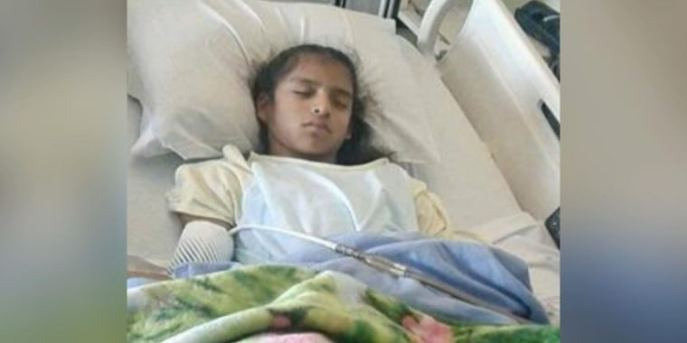 Image: Rosa Maria Hernandez, A 10-year-old girl with cerebral palsy, faces deportation.