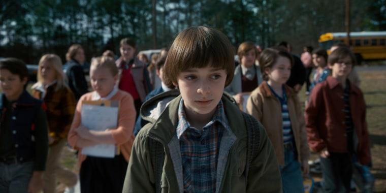 Image: Noah Schnapp appears in Season 2 of Netflix's Stranger Things