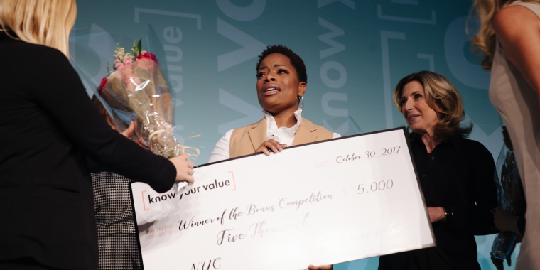 Monday's winner was Tiffany Hamilton, 37, a higher education administrator, coach and motivational speaker.