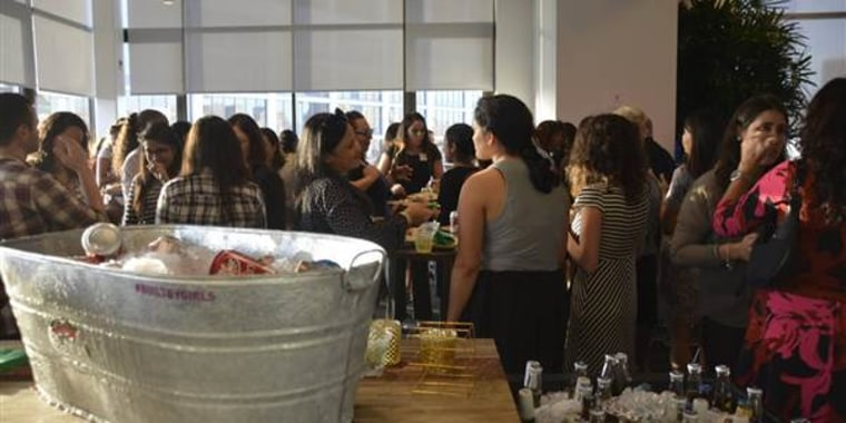A file photo of the Latinas Think Big summit.