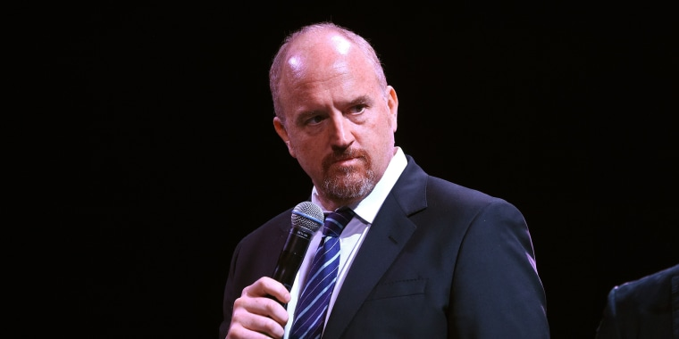 Louis C.K. at Madison Square Garden in 2016.