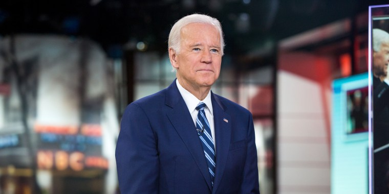 Image: Former Vice President Joe Biden appears on TODAY, on Nov. 13, 2017.