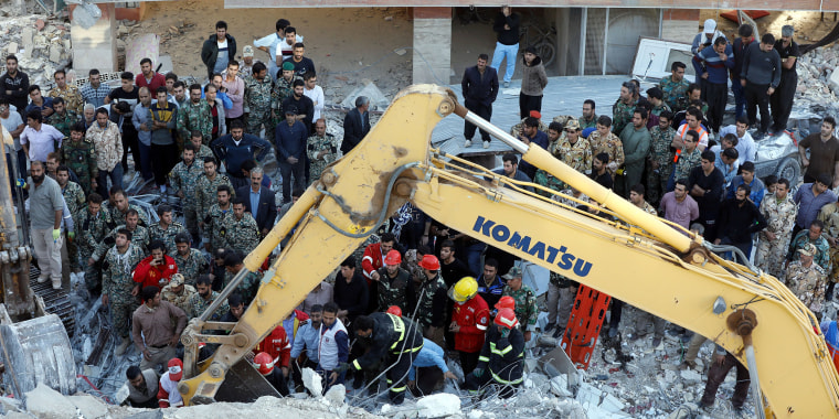 Image: Iran-Iraq Earthquake