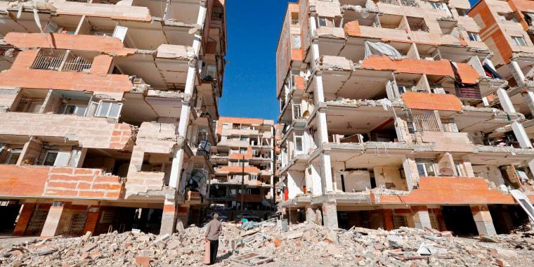 Image: TOPSHOT-IRAN-QUAKE