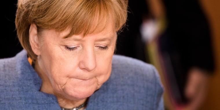 Image: German Chancellor Angela Merkel