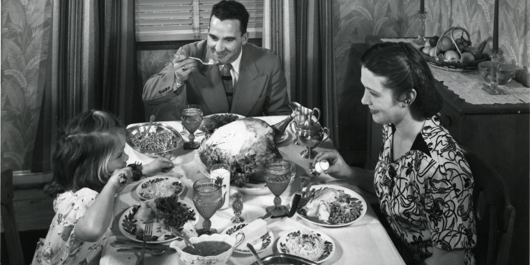 Image: A Thanksgiving Dinner