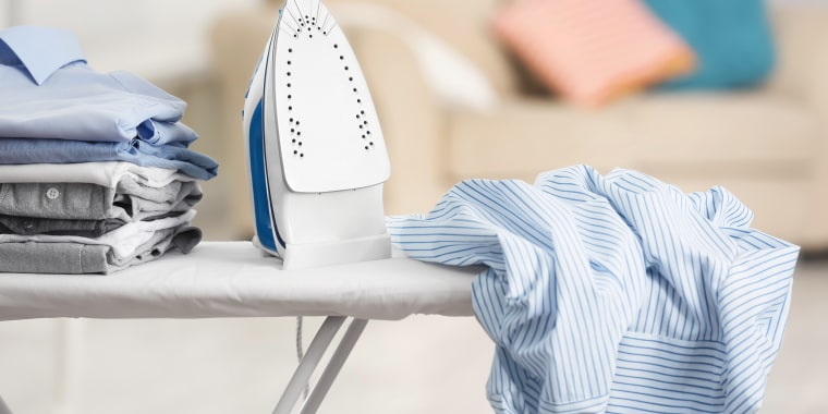 Yes, you definitely have to clean your iron.