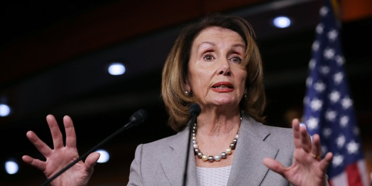 Image: House Minority Leader Nancy Pelosi holds her weekly news conference