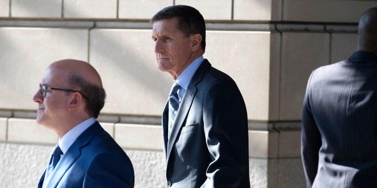 Image: Former National Security Advisor Michael Flynn