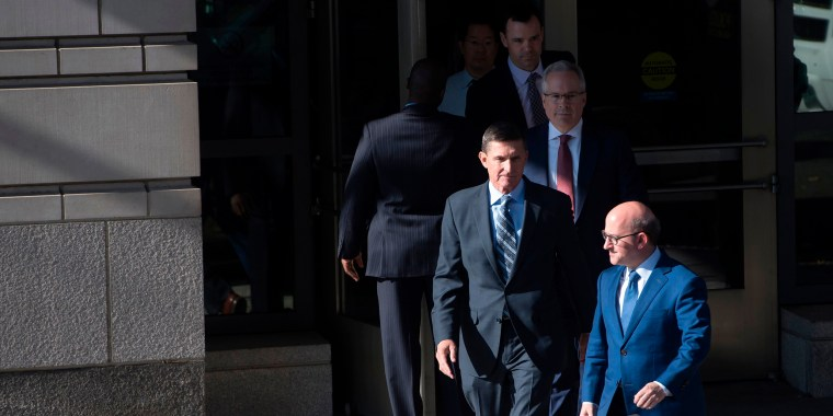 Image: Michael Flynn leaves Federal Court in Washington