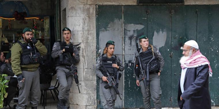 Image: TOPSHOT-PALESTINIAN-ISRAEL-JERUSALEM-CONFLICT