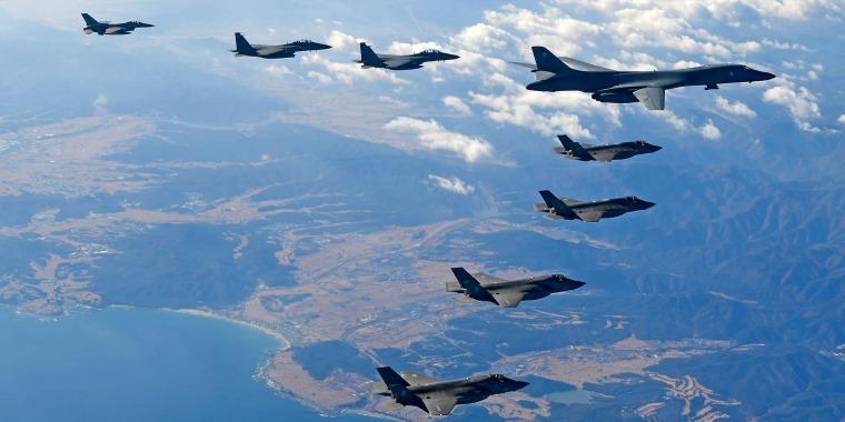 Image: South Korea And US Air Force War Games