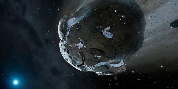 Image: Asteroid Illustration