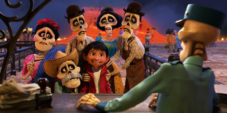 Coco a latino themed movie that gets it right in disney pixars coco miguel voice of newcomer anthony gonzalez finds himself magically transported to the stunning and colorful land of the dead stopboris Image collections