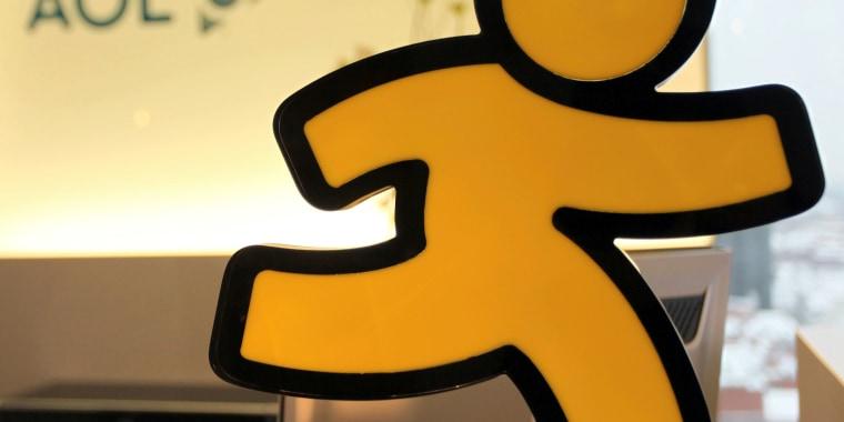 AOL's Instant Messenger logo