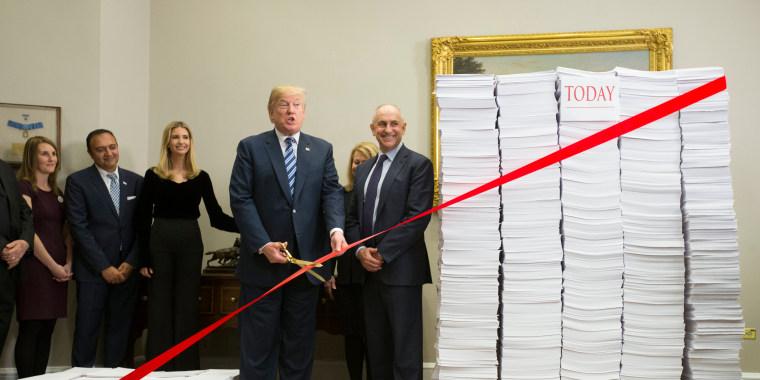 Image: White House event on deregulation