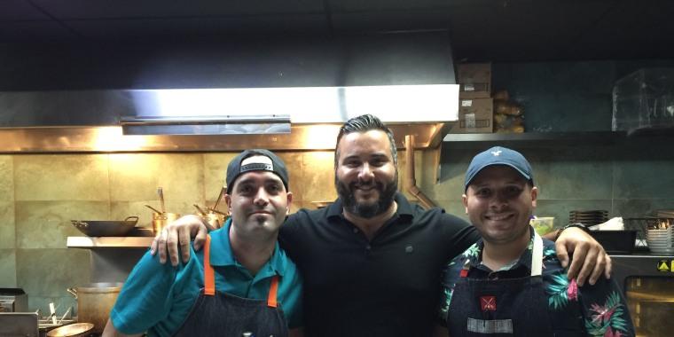 Chef Jose Mendin and staff at PB Ysla. Photo credit: Juan Fernando Ayora (@juanfayora).