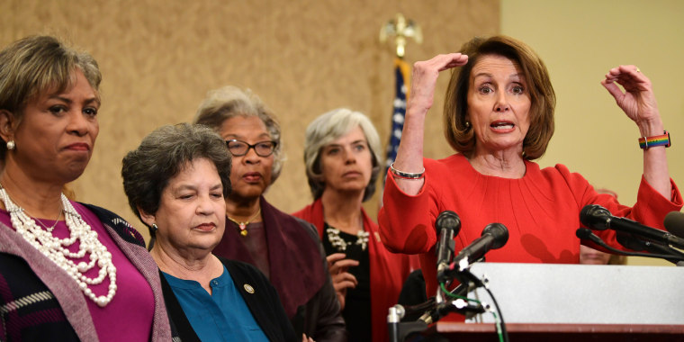 Image: Pelosi speaks on Capitol Hill about the funding for the reauthorization of the Children's Health Insurance Program