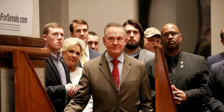 Image: BESTPIX - Alabama GOP Senate Candidate Roy Moore Holds Election Night Party