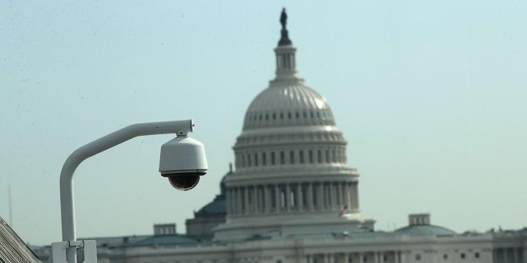 Image: Surveillance Camera Near U.S. Capitol
