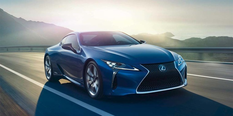 Lexus has traditional favored more conservative designs, but the striking LC sports coupe is one of the most aggressively styled offerings in the luxury market.