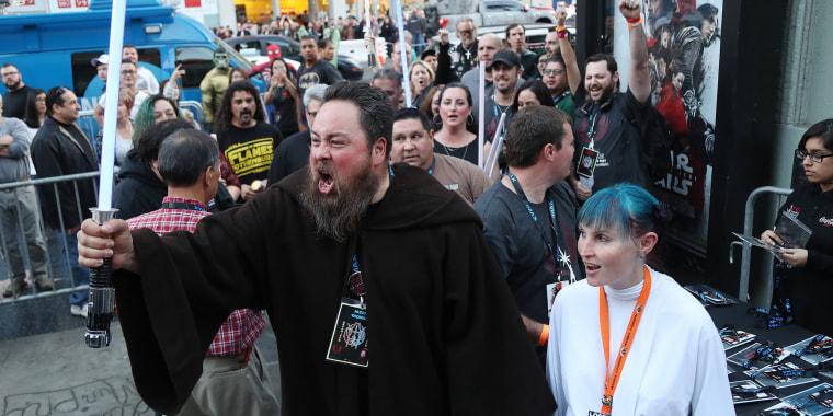 Image: Star Wars - The Last Jedi opening night