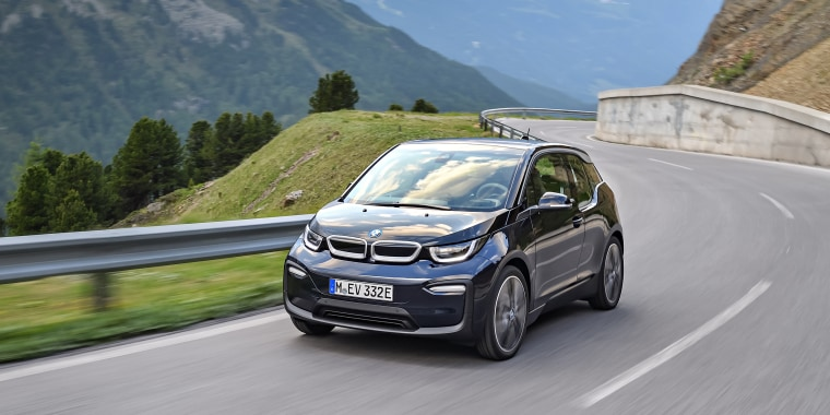 Image: The new BMW i3.