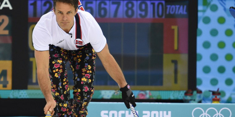 Olympic Curler