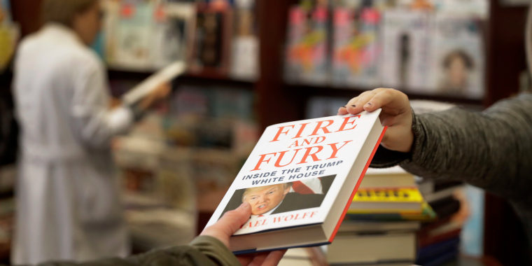 "Image: Michael Wolff's ""Fire and Fury: Inside the Trump White House"""