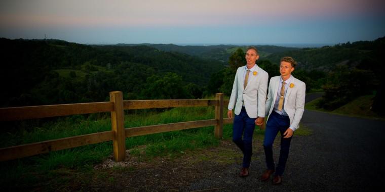 Image: AUSTRALIA-GAY-POLITICS-MARRIAGE