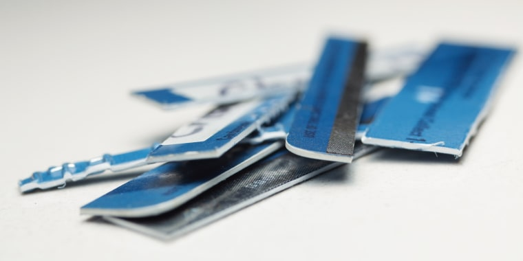 Image: Shredded credit cards