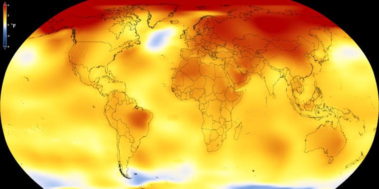 Image: Global temperatures