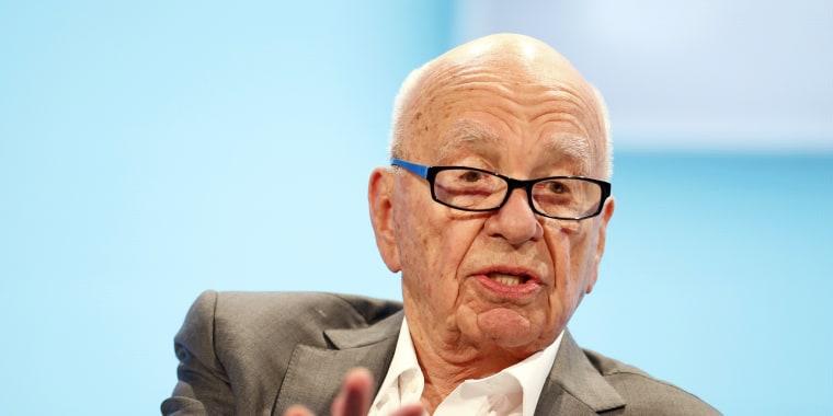 Image: Rupert Murdoch on Oct. 29, 2014