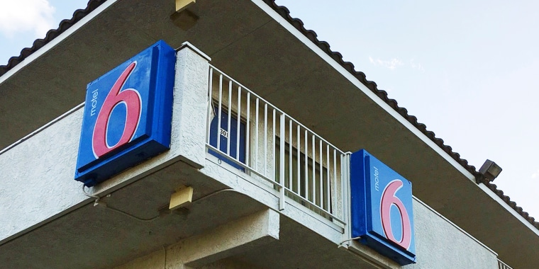 Image: A Motel 6 in Phoenix on Sept. 14, 2017