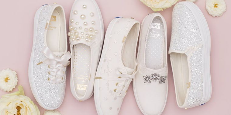 How Cute Is This Wedding Sneaker Collection From Keds And Kate Spade