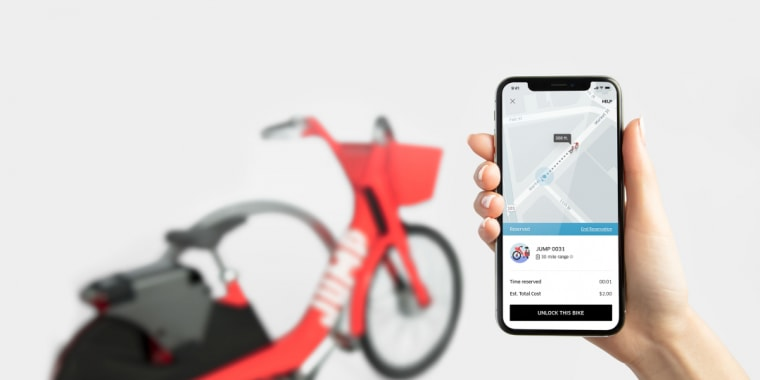 Image: Uber Bike by JUMP