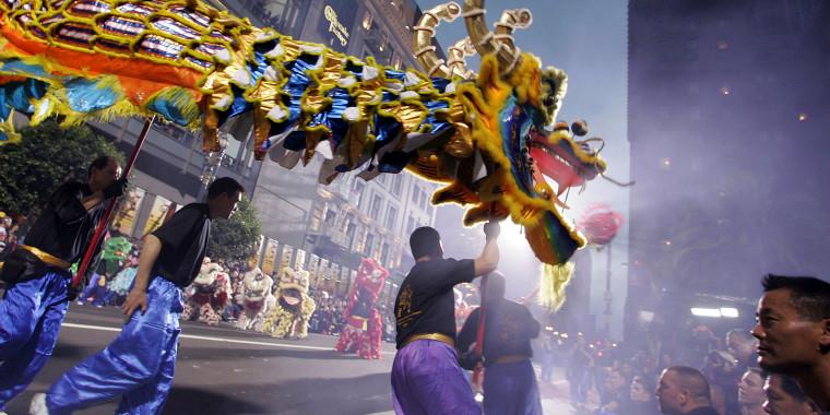 Image: Chinese New Year Parade Hits Streets Of San Francisco